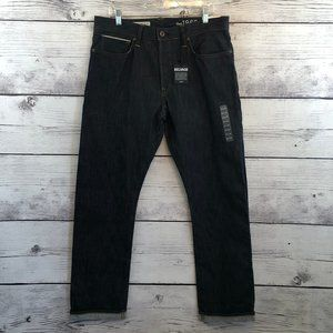 Gap Selvage Button Fly Jeans 34 x 32 Straight Fit